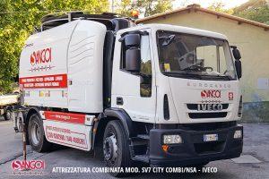 ATTREZZATURA COMBINATA MOD. SV7 CITY COMBI/NSA - IVECO SANGOI GENOVA